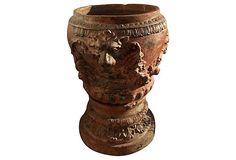 1870s Grand Italian Terracotta Planter on OneKingsLane.com