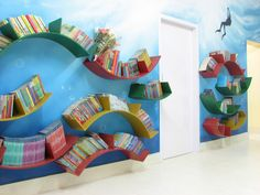 Children's Library Decorating Ideas | children's library and play house full of colour, life and ...
