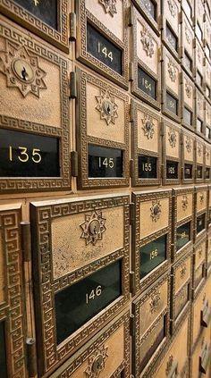 Mailboxes ~ Paris. Apartment MailboxesOffice MailboxesVintage ...