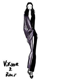 Viktor & Rolf Paris Womenswear S/S 2013 by Rei Nadal.
