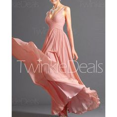 Alluring Spaghetti Strap Solid Color Maxi Dress For Women 745e76f27b