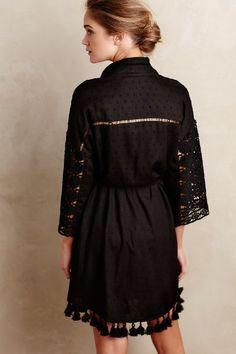 Embellished Clipdot Robe #anthrofave