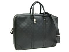 Louis Vuitton Voyage GM Briefcase Damier Infiniti Noir N41146(BF049498)