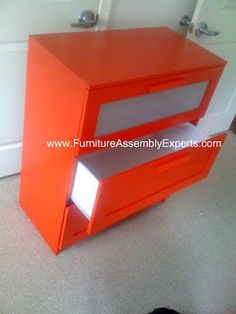 ikea Hopen 3 drawers chest assembled in Arlington VA by Furniture Assembly Experts Company
