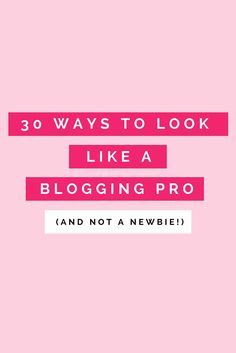 "Are you a newbie that wants your blog to look professional? Or are you a professional but your blog still looks like it was created by a newbie? If so, then this post is for you!But first, a short video to give you a kick in the pants!!! (Warning, it contains the ""F"" word.) You may or may not…"