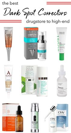 Struggling with dark spots from acne scars, hyperpigmentation, sun damage or melasma? Here are the best dark spot correctors for a bright, clear complexion! Beauty Care, Beauty Skin, Beauty Tips, Beauty Hacks, Diy Beauty, Homemade Beauty, Beauty Ideas, Beauty Secrets, Best Dark Spot Corrector
