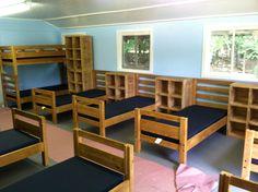 #campfurniture by Jess Crate Furniture #campbeds #cubbies #JessCrateFurniture