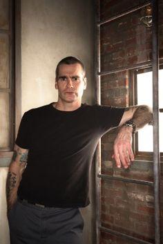 LA's most eloquent punk, warrior-poet Henry Rollins.
