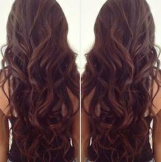 Super Rich, dark-chocolate hair color.