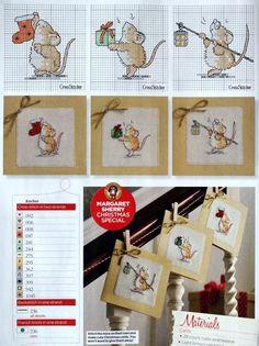 Margaret Sherry - Christmas mice