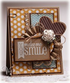 Card by Jen Shults using Verve Stamps.  #vervestamps