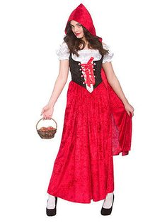 Fairytale storybook halloween little red riding hood costume #fancy #dress #party, View more on the LINK: http://www.zeppy.io/product/gb/2/201435693005/
