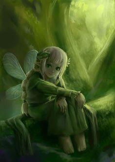 Elfes , Fées et fantaisie.# 3045