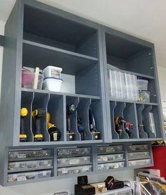 Love the shop storage