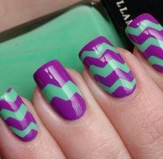 Cool geometric nails! find more women fashion ideas on www.misspool.com