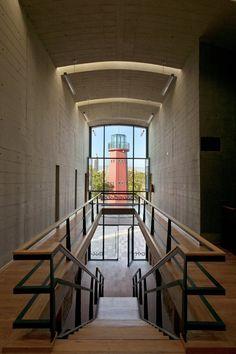 Centro de las Artes San Luis Potosí, San Luis Potosí, 2005 by Alejandro Sanchez .... catwalk wrap to central stair