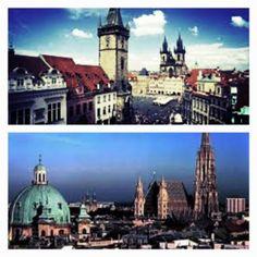 Where to go...Prague or Vienna?