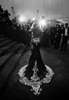 Beyoncé au Met Gala 2013.