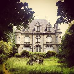 Photo by designmomblog. Chateau du Ségrie-Fontaine. I want to buy this.