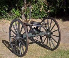 A type of gatling guns used in the civil war
