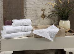 Полотенце Issimo Linea, 50x90, Белый, купить за 490 руб. Покупайте в интернет магазине Almadom.ru