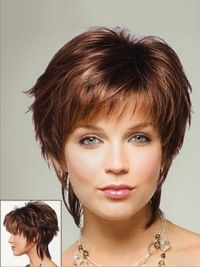 SKU:HW11095; Material:Synthetic; Cap Construction:Capless; Cap Construction:Capless; Length:Short; Hair Style:Straight;