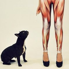 I must have these Muscle Leggings by black milk clothing.