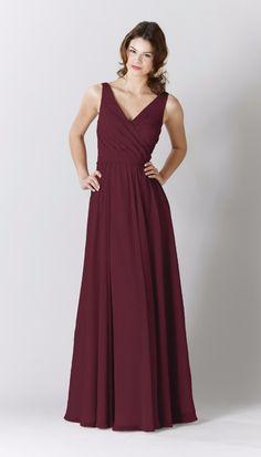 Anna Chiffon Bridesmaid Dress