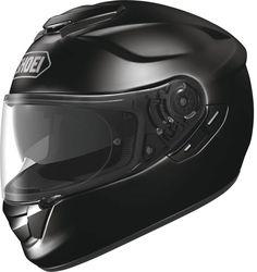 Shoei GT-Air Black.  Info: http://www.shoei-europe.com/it/products/GT-AIR/