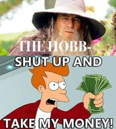 How I  feel about any news regarding The Hobbit movie