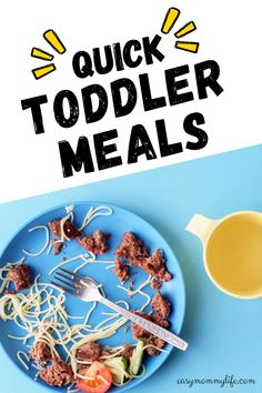 Here are easy and healthy toddler meal ideas and recipes you must try. Did I tell you these are picky toddler approved? A week's worth of toddler meals recipes in one post. #toddlermeals #pickyeater #easytoddlermeals #healthytoddlermeals #toddlermealideas Easy Toddler Snacks, Healthy Toddler Meals, Kids Meals, Healthy Snacks, Vegetarian Stew, Picky Eaters, Quick Meals, Meal Ideas, Meal Planning