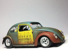 Custom Vw Bug, Custom Cars, Go Kart Frame, Kdf Wagen, Model Cars Building, Hobby Cars, Volkswagen Models, Custom Hot Wheels, Plastic Model Cars