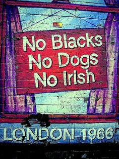 Hmmm. . . And yet, there were those boys from Liverpool -- those Irish-born-in-England-boys from Liverpool. . .