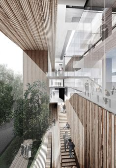 School of Architecture for the Chinese University of Hong Kong - Ida and Billy