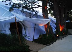I like this tent style. Yifat Oren.