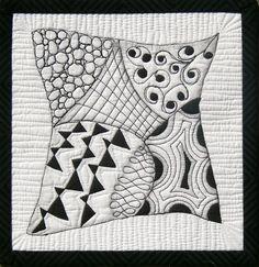 Zentangle: Quilt Surprise