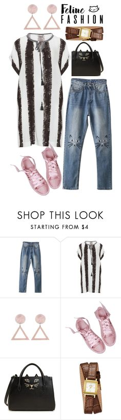 """Untitled #119"" by strngrrr on Polyvore featuring Mat, Charlotte Olympia and GUESS"