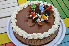 Dessert Recipes, Desserts, Oreo, Mousse, Food And Drink, Birthday Cake, Ice Cream, Yummy Food, Cheese