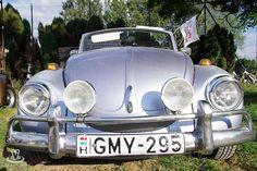 Éva Timár, from Sárvár, Hungary. Member of Hungarian Beetle Club (MBK) and Association Beetle Friends (BBK). Her 1972 1302 VW Beetle Cabriolet.