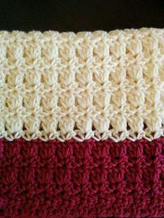 Crochet and Me かぎ針編みの編み図と編み方 Crotchet Stitches, Knit Crochet, Stitch Patterns, Knitting Patterns, Crochet Patterns, Diy And Crafts, Cross Stitch, Embroidery, Blanket