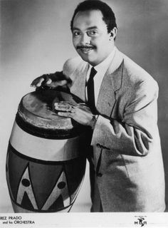 "Perez Prado - Cuban bandleader and the ""King of Mambo."""