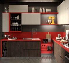 #kitchen #design #interior #furniture #furnishings #interiordesign комплект в кухню Snaidero Abaco, Strip_R