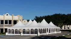 40 x 70 Tent with Side Walls.  Arched Windows.