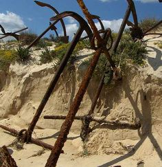 Rust in Peace: Portugal's Eerie Abandoned Anchor Graveyard