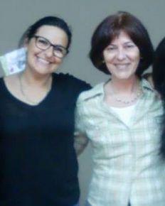 En la presentación de Paloma Aínsa. Mayo 2015, Esplugues.