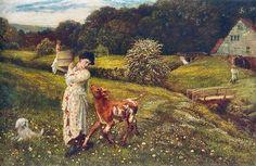 Returning Home- Arthur Hughes