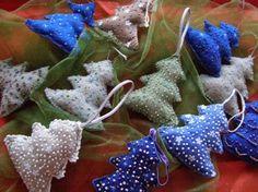 Новогодние поделки - Елочные игрушки из ткани _ МК. Обсуждение на LiveInternet - Российский Сервис Онлайн-Дневников