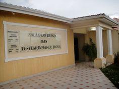 Salão do Reino das Testemunhas de Jeová - SP - Brasil