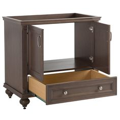 home decorators collection teasian 36 in. vanity cabinet only in