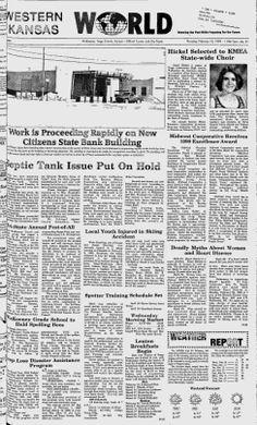 TREGO COUNTY - Wakeeney, Kansas - 1999. 2001-2003. 2005-2009 - Western Kansas World - Google News Archive Search